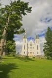 Martyr& x27; igreja do santuário de s, região central, Ontário Fotografia de Stock