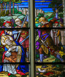 Martyrdom of Saint Rumbold - Mechelen Cathedral Royalty Free Stock Photography
