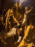 The Martyrdom of St. Matthew painting by Caravaggio