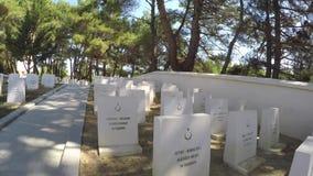 Martyrium Zigindere Sargi Yeri ist nahe durch Alcitepe-Dorf es wurde auf Gedächtnis von Turki konstruiert stock footage