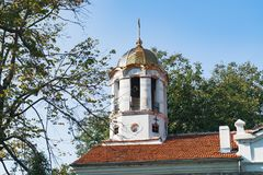 Martyrkyrka f?r helgedom fyrtio i Veliko Tarnovo royaltyfria bilder