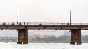 Martyrs Bridge (Pont des martyrs) in Bamako Stock Images