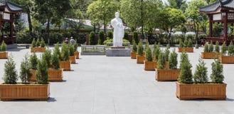 Martyrs'cemetery revolucionario en Chengdu, China Imagen de archivo