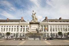 Martyrs fyrkant, Bryssel royaltyfri bild