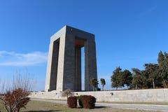 Martyrs Monument. Monument to the martyrs monument in Gallipoli, Çanakkale Royalty Free Stock Image
