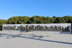 Martyrs Monument. Monument to the martyrs monument in Gallipoli, Çanakkale Stock Images