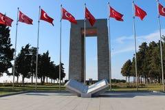 Martyrs Monument. Monument to the martyrs monument in Gallipoli, Çanakkale Stock Photo