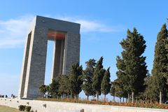 Martyrs Monument stock images
