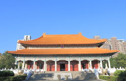 Martyrs shrine Taichung Taiwan. Martyrs shrine in Taichung Taiwan Stock Photo