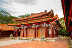 Martyrs' shrine in Tainan, Taiwan Royalty Free Stock Photo