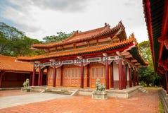 Martyrs' shrine in Tainan, Taiwan Royalty Free Stock Photo