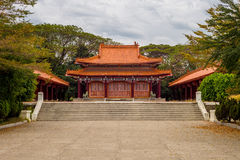 Martyrs' shrine in Tainan, Taiwan Royalty Free Stock Images