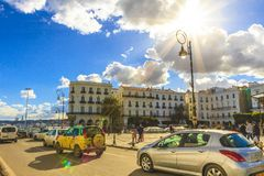 Algiers. Martyrs square in Algiers, the capital of Algeria royalty free stock photo