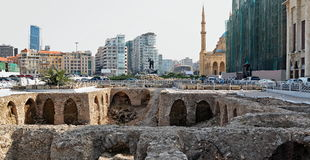 Martyrs' Square, Beirut Royalty Free Stock Photo
