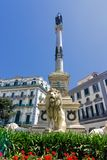 Martyrs Square Monument in Naples, Italy royalty free stock image