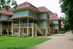 Marue-Kha-Тайск-ya-болезненный дворец Таиланд Стоковое Изображение