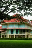 Maruek kathayawan宫殿在Huahin,泰国 免版税库存图片