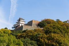 Marugame城堡在日本 库存图片