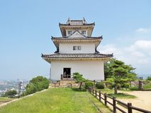 Marugame Castle σε Marugame, νομαρχιακό διαμέρισμα Kagawa, Ιαπωνία Στοκ εικόνα με δικαίωμα ελεύθερης χρήσης