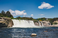 Maruia fall in New Zealand Royalty Free Stock Photography