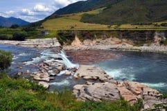 Maruia Falls, West Coast, New Zealand Stock Photography