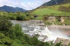 Maruiadalingen op Maruia-Rivier in Tasman-District NZ stock foto