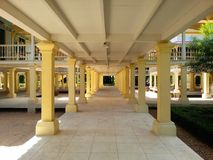 Marukathayawan-Palast in Thailand Lizenzfreie Stockbilder