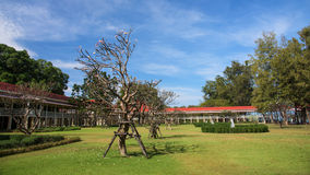 Marukhathaiyawan Palace and garden in Cha-Am Stock Photo
