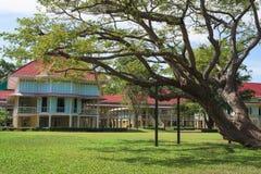 Marukhathaiyawan wooden Palace in Cha-Am Royalty Free Stock Photo