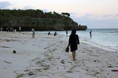 Marumasa strand Arkivfoto