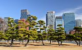 Marunouchi Business District Royalty Free Stock Photos