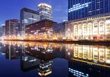 Marunouchi Business District Royalty Free Stock Image
