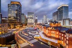 Marunouchi District Tokyo Cityscape Stock Image