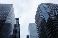 Marunouchi-Geschäftsgebiet in Tokyo, Japan Lizenzfreies Stockfoto
