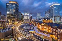 Marunouchi Tokyo, Japan Royaltyfri Foto