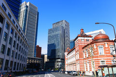Marunouchi,Tokyo, Japan Royalty Free Stock Photography