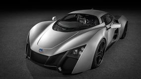 Marussia B2 Front View. Royalty Free Stock Photos