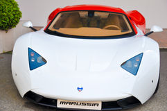 Marussia parked Royalty Free Stock Images