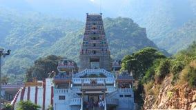 Maruthamalai-Tempel-gerade Ansicht Stockbilder