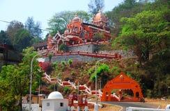 Maruti-Tempel in Panjim, eingeweiht dem hindischen Affe-Gott Hanuman Lizenzfreie Stockfotos