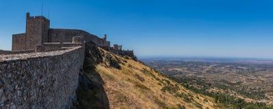 Marvão Castle Panorama I Royalty Free Stock Photography