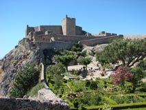 marvao Португалия замока Стоковое Изображение