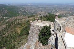 Marvao castle Royalty Free Stock Photos