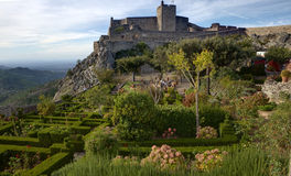 Marvao castle Royalty Free Stock Photos