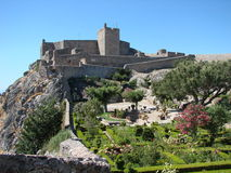Marvao castle, Portugal stock image