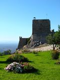 Marvao castle, Portugal royalty free stock photography