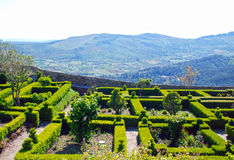 Marvao gardens(Portugal) Royalty Free Stock Photography
