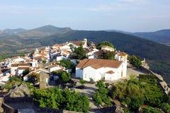 Marvao, l'Alentejo, Portogallo Fotografie Stock Libere da Diritti