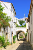 Marvao white village Stock Photography
