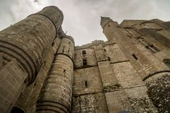 Marveille at Mont Saint Michel Royalty Free Stock Photos